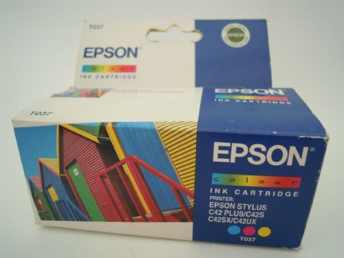 EPSON INK CARTRIDGE COLOUR T037 FOR C42 PLUS/C42S